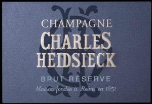 NV Champagne - Charles Heidsieck Brut Reserve label
