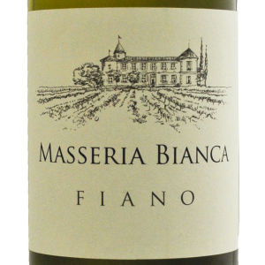 Fiano Masseria bianca label