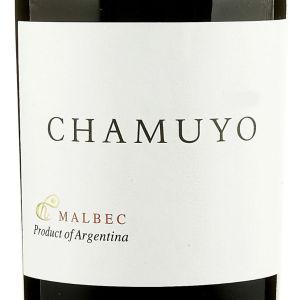 Malbec Chamuyo label