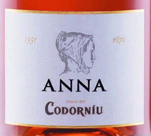 Pink fizz - anna de codorniu label
