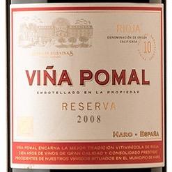 rioja - vina pomal reserva label