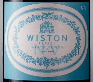 traditional method - wiston estate nv label english sparkling