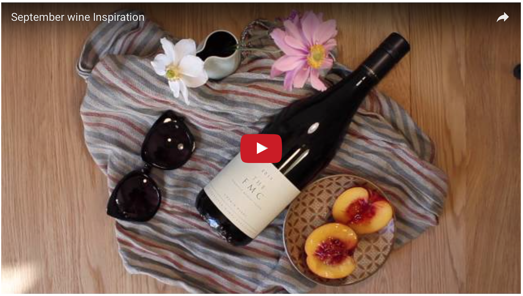 September wine inspiration video