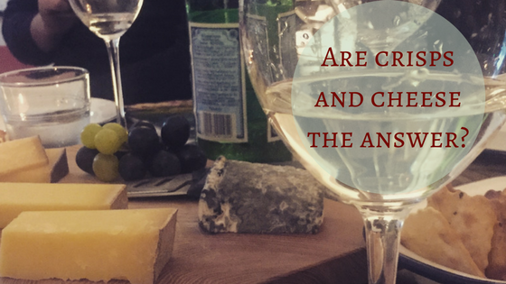 how to make your wine taste better Are crisps and cheese the answer-